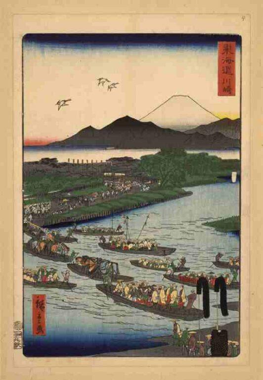 東海道 川崎(上洛東海道)