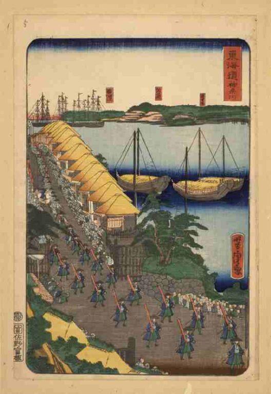 東海道 神奈川(上洛東海道)