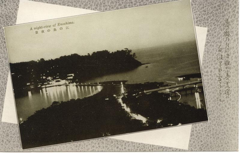 江の島の夜景