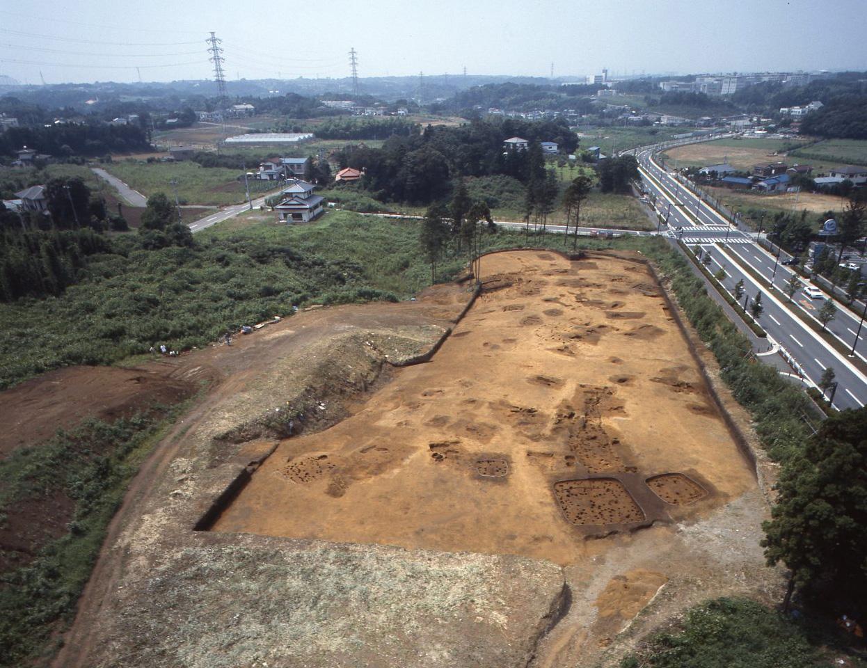 遠藤広谷遺跡 全景