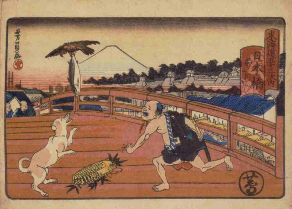 東海道五十三次内 日本橋